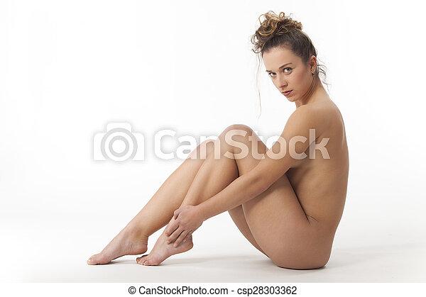 naken japansk modell