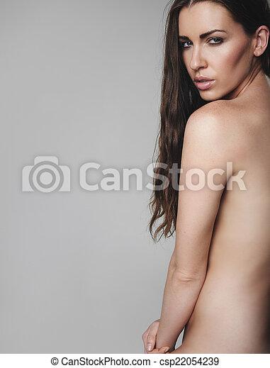 naken modell