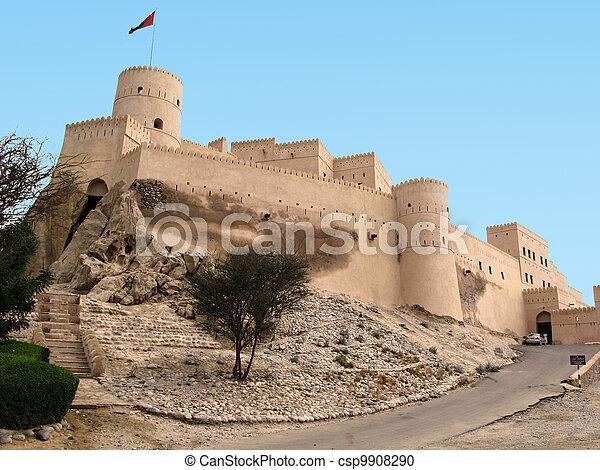 Nakhal Fort in Oman - csp9908290