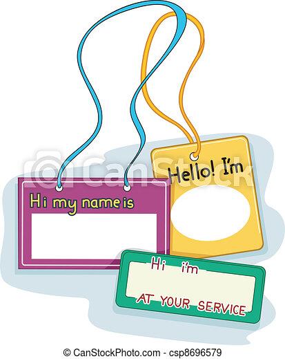 Name Tags - csp8696579