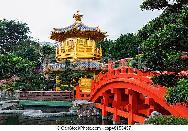 nan lian garden pavilion in hong kong csp48153457 - Nan Lian Garden