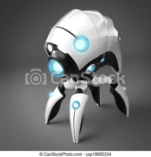 Resultado de imagen de ilustración de un nano robot