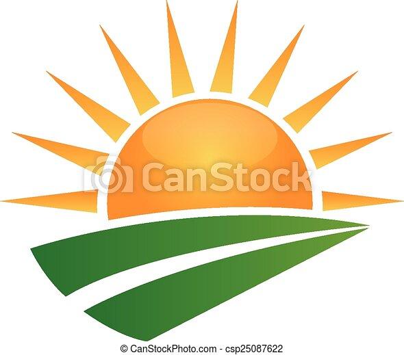 nap, zöld, út, jel - csp25087622