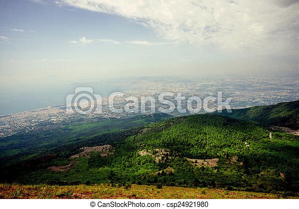 Naples view - csp24921980