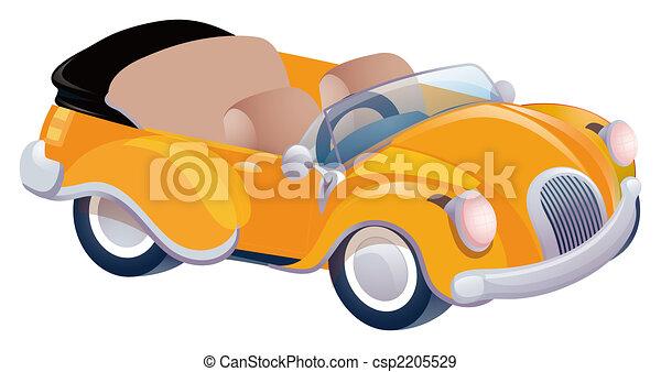 narancs, autó - csp2205529
