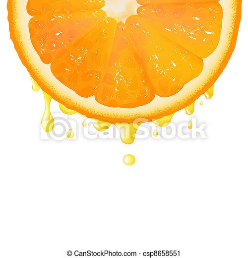 narancslé, lemetsz - csp8658551