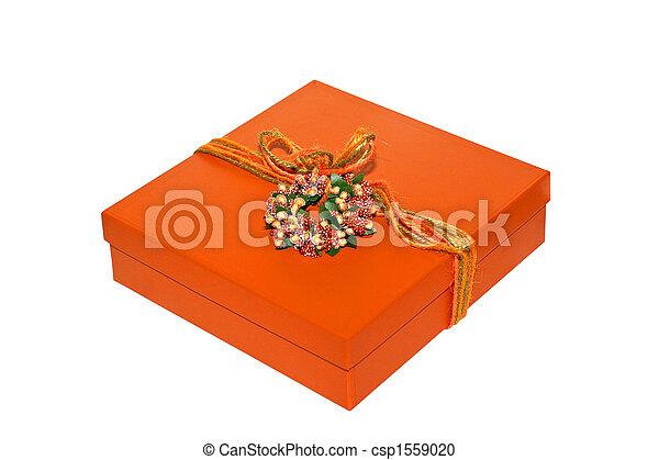 Caja naranja - csp1559020