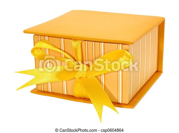 Caja naranja - csp0604864