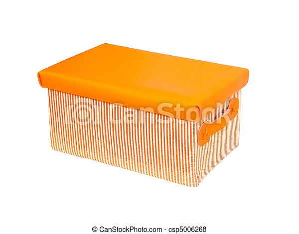 Caja naranja - csp5006268