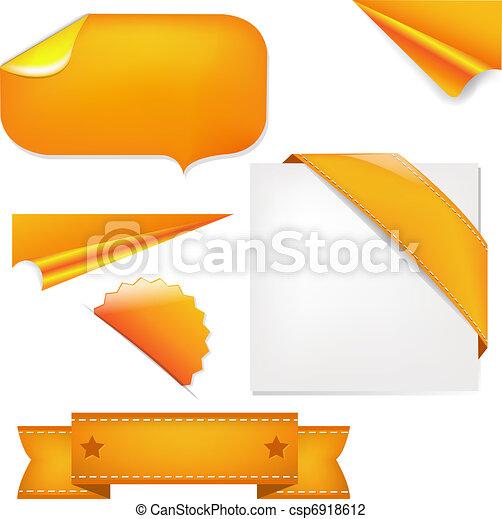 naranja, conjunto - csp6918612