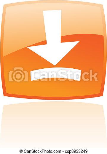 Naranja descarga - csp3933249