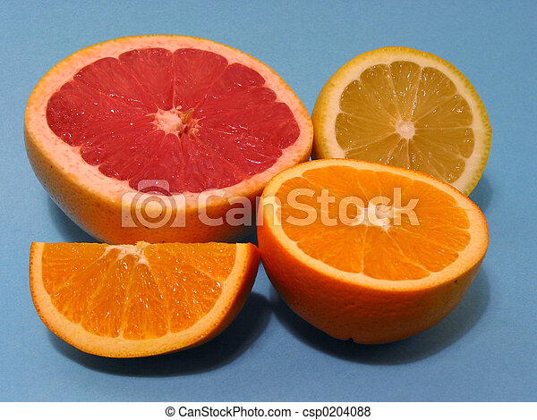 Naranja, pomelo, limón - csp0204088