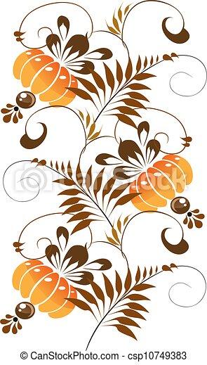 Ornamento naranja - csp10749383