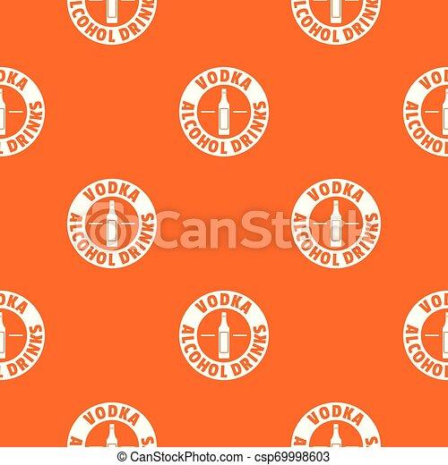 Vodka con calidad vector naranja - csp69998603