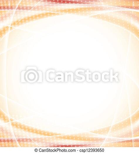 Abstrae el diseño naranja - csp12393650