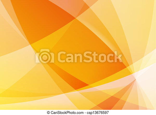 naranja, resumen, papel pintado, plano de fondo, amarillo - csp13676597