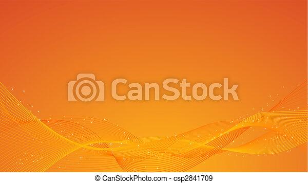 Trasfondo naranja abstracto - csp2841709
