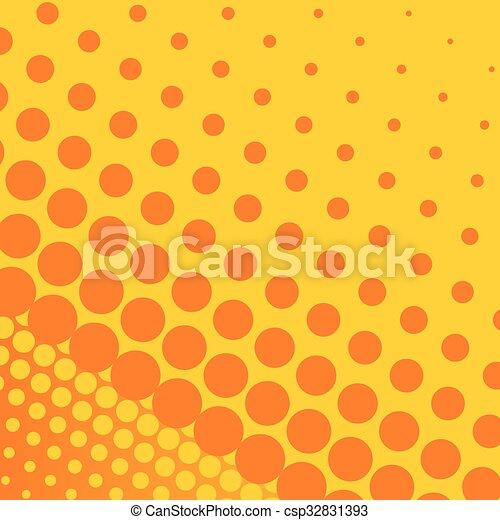 Naranja vector fondo amarillo puntos grande amarillo - Amarillo naranja ...