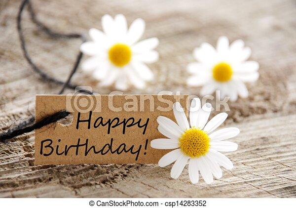 narozeniny, šťastný - csp14283352