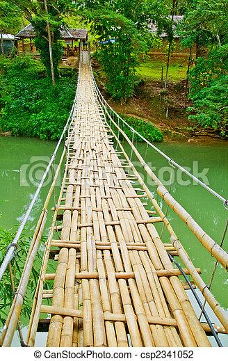 Narrow Hanging Bridge - csp2341052