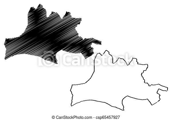 Nasarawa State map - csp65457927
