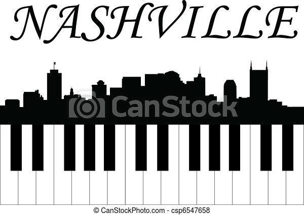 Nashville music - csp6547658