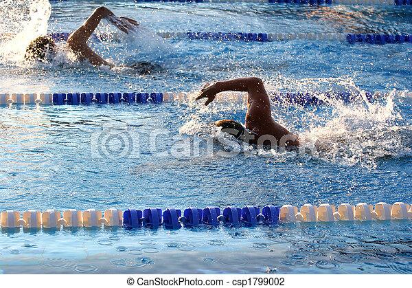 Nadando - csp1799002