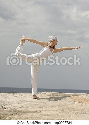 Natarajasana (King Dancer Pose) - csp0027784