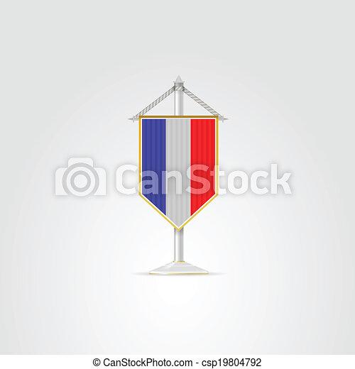 National, abbildung, symbole, france., countries., europäische ...