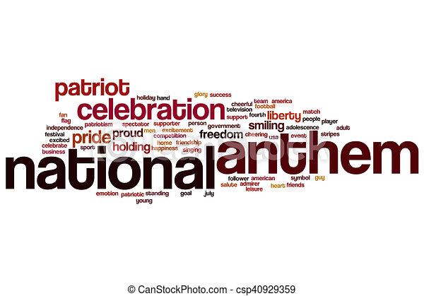 photograph regarding National Anthem Lyrics Printable identify Nationwide anthem term cloud