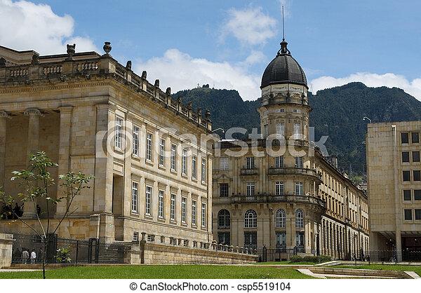 National Capitol, Bogota, Colombia - csp5519104