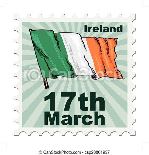 national day of Ireland - csp28801937