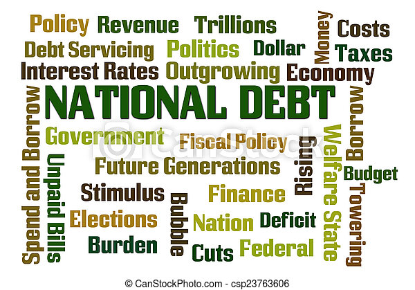 National Debt - csp23763606