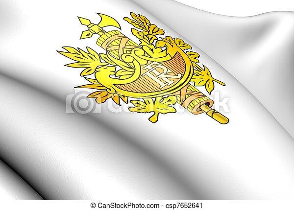 National Emblem Of France Close Up