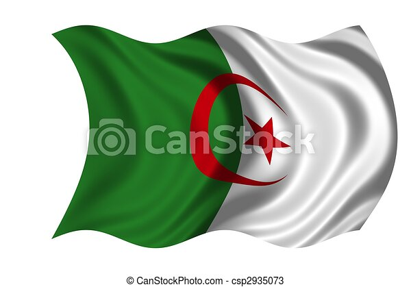 National Flag Algeria - csp2935073
