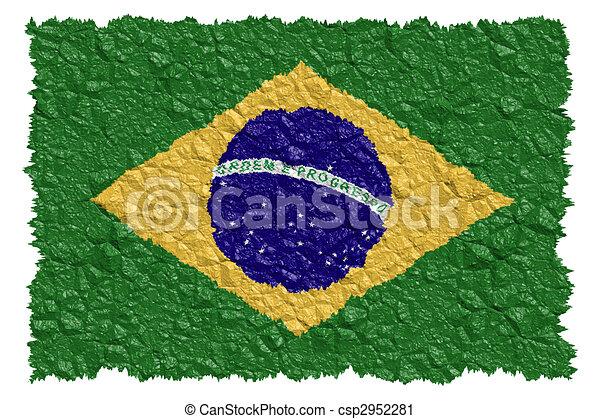 National Flag Brazil - csp2952281