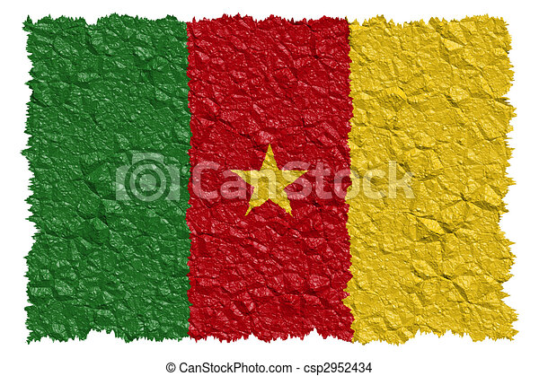 National Flag Cameroon - csp2952434