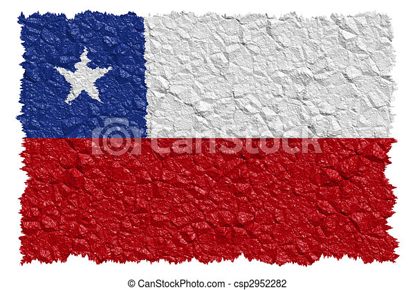 National Flag Chile - csp2952282
