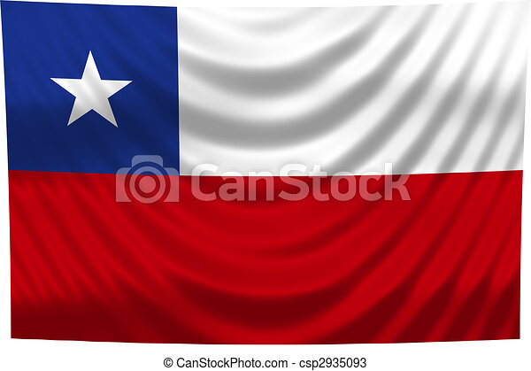 National Flag Chile - csp2935093