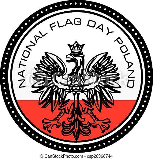 National Flag Day Poland - csp26368744