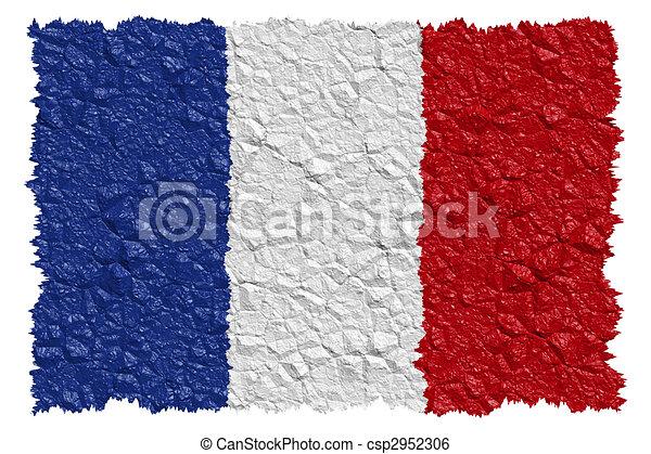National Flag France - csp2952306