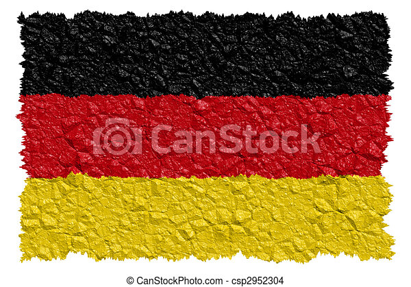 National Flag Germany - csp2952304