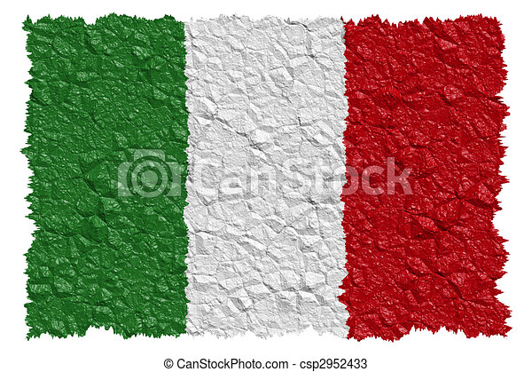 National Flag Italy - csp2952433
