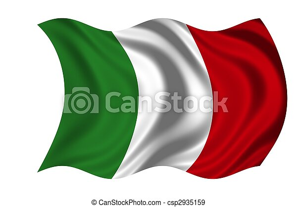 National Flag Italy - csp2935159