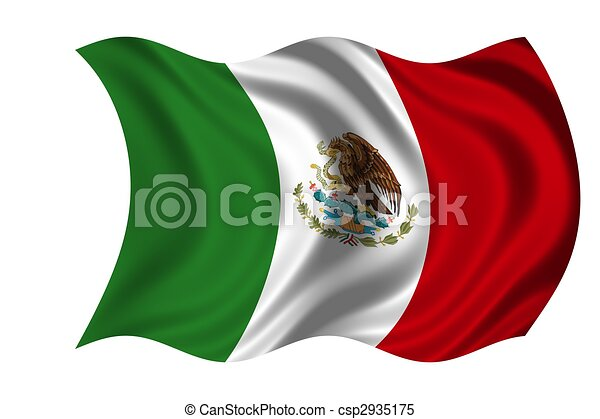 National Flag Mexico - csp2935175