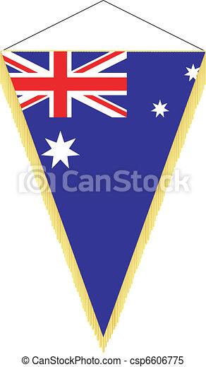 national flag of Australia - csp6606775
