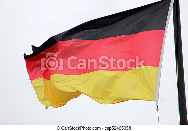 National flag of Germany - csp52465058