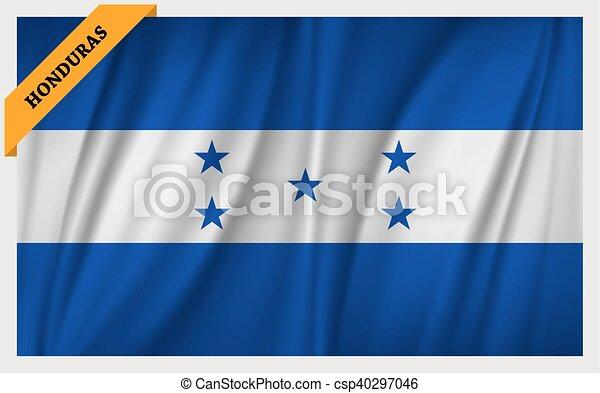 National flag of Honduras - csp40297046