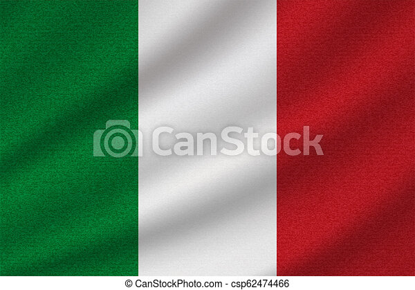 national flag of Italy - csp62474466