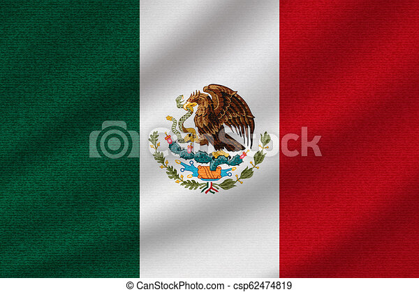 national flag of Mexico - csp62474819
